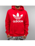 adidas Hoody Trefoil rood