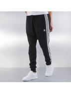 adidas Jogginghose Chiffon Drop Crotch Cuffed schwarz