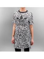 adidas Kleid T-Shirt weiß