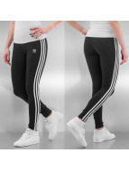 adidas Leggings/Treggings 3Stripes czarny