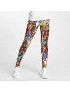 adidas Leggings/Treggings Passaredo kolorowy