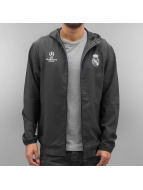 adidas Lightweight Jacket Real Madrid grey