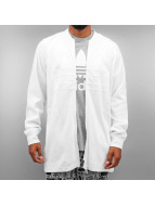adidas Lightweight Jacket Long Superstar white