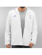 adidas Lightweight Jacket Real Madrid white