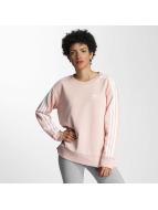 adidas Maglia 3 Stripes A-Line rosa chiaro
