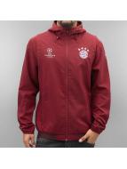 adidas Övergångsjackor FC Bayern München röd
