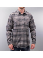 adidas overhemd Silas Woven grijs