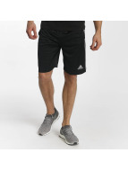 Adidas D2M 3 Stripes Shorts Black/White