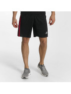 Adidas D2M 3-Stripes Shorts Black/Scarle