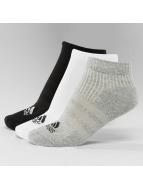 adidas Performance Sukat Performance 3-Stripes No Show 3-Pairs musta
