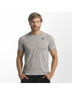 Adidas D2M Heathered T-Shirt Medium Grey Heather