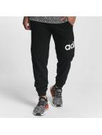 Adidas Essentials Logo Tapered Pants Black/White