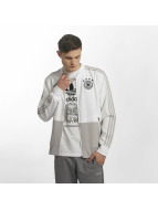 Adidas DFB Presentation Jacket White/Grey Two