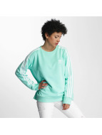 adidas Pullover 3 Stripes A-Line green