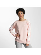 adidas Pullover 3 Stripes A-Line rose