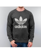 adidas Pullover French Terry Denim schwarz