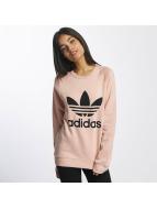 adidas Pulóvre Trefoil ružová