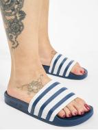 adidas Sandales Adilette bleu