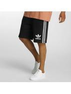 adidas Shorts 3 Striped noir