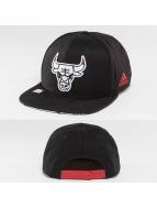adidas snapback cap Chicago Bulls zwart