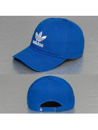 adidas Snapback Caps Trefoil modrý