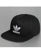 adidas Snapback Caps Trefoil musta