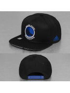 adidas Snapback Caps Warriors Flat musta