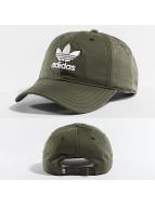 adidas Snapback Caps Trefoil olivový