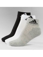 adidas Sukat 3-Stripes Per An HC 3-Pairs musta