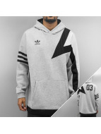 adidas Sweat à capuche Basketball gris