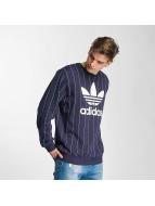 adidas Sweat & Pull Tokyo Pinstripes bleu