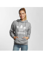 Adidas Trefoil Hoody Medium Grey Heather