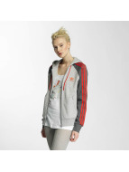 adidas Sweat capuche zippé Girly gris