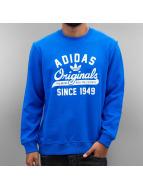 adidas Swetry Graphic Crew niebieski