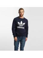 adidas Swetry Trefoil niebieski