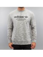 adidas Swetry PT Crew Graphic szary
