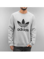 adidas Swetry Trefoil Fleece szary