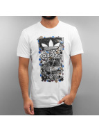 adidas T-Shirt Culture Clash blanc