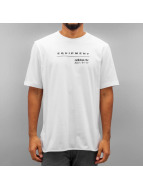 adidas T-Shirt Equipment Logo blanc