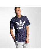 adidas t-shirt Tokyo Pinstripes blauw