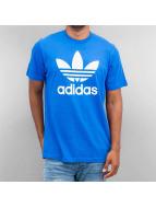 adidas T-Shirt Originals Trefoil bleu