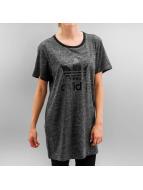 adidas T-Shirt Trefoil grau