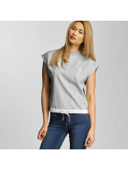 adidas T-Shirt High Neck grau