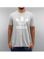 adidas T-Shirt Trefoil gray