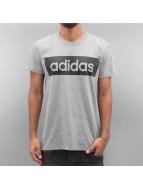 adidas t-shirt Linear grijs