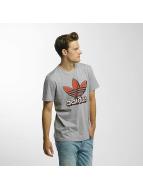 adidas t-shirt Trefoil 2 grijs