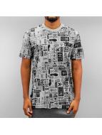 adidas T-Shirt Street GRP AOP gris