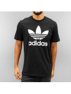 adidas T-shirt Originals Trefoil nero