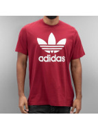 adidas T-Shirt Original Trefoil red