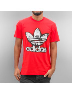 adidas T-Shirt TRF Graphic rouge